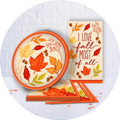 Fall Tableware & Decor